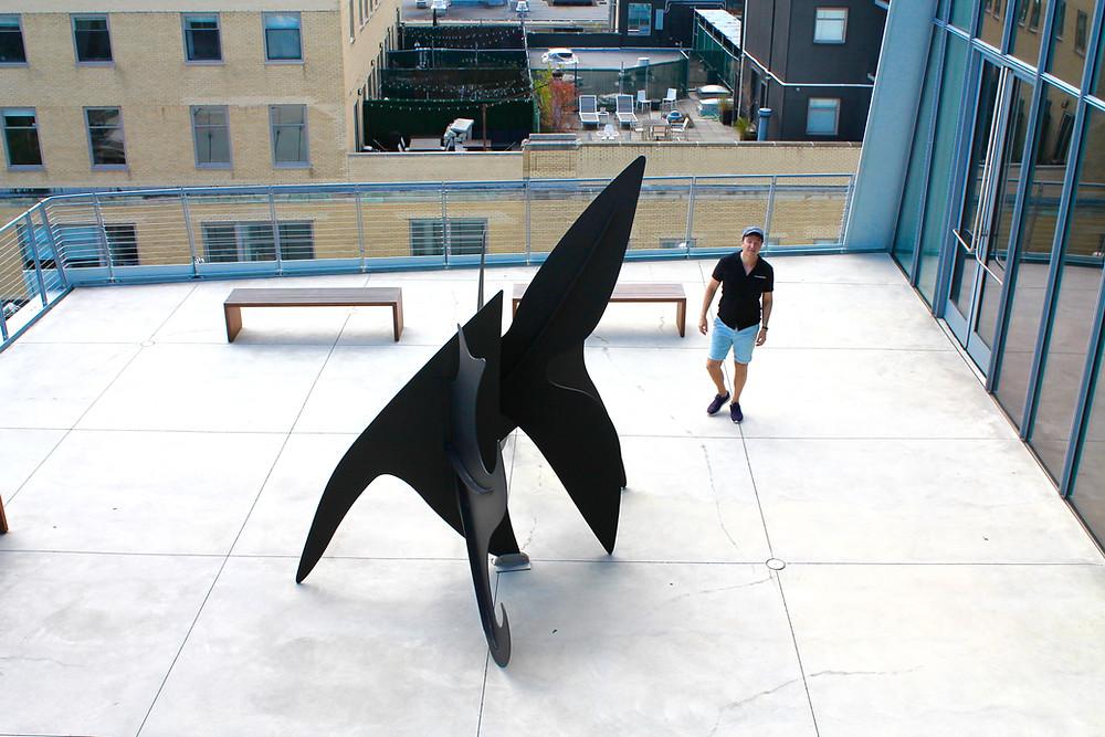 Las terrazas del Whitney museum son un espectáculo más de Nueva York