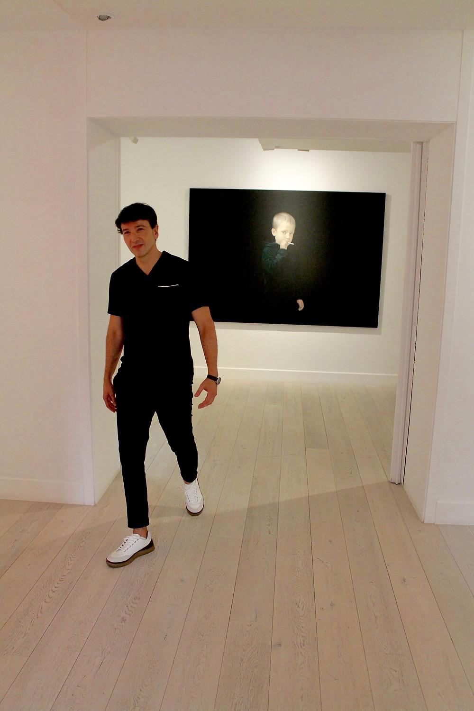 The Trendy Man en la Galería de Arte Lucía Mendoza en Madrid