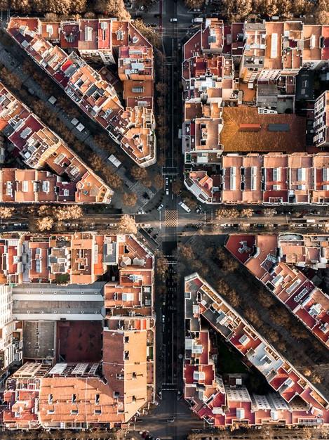 BARCELONA A VISTA DE DRON