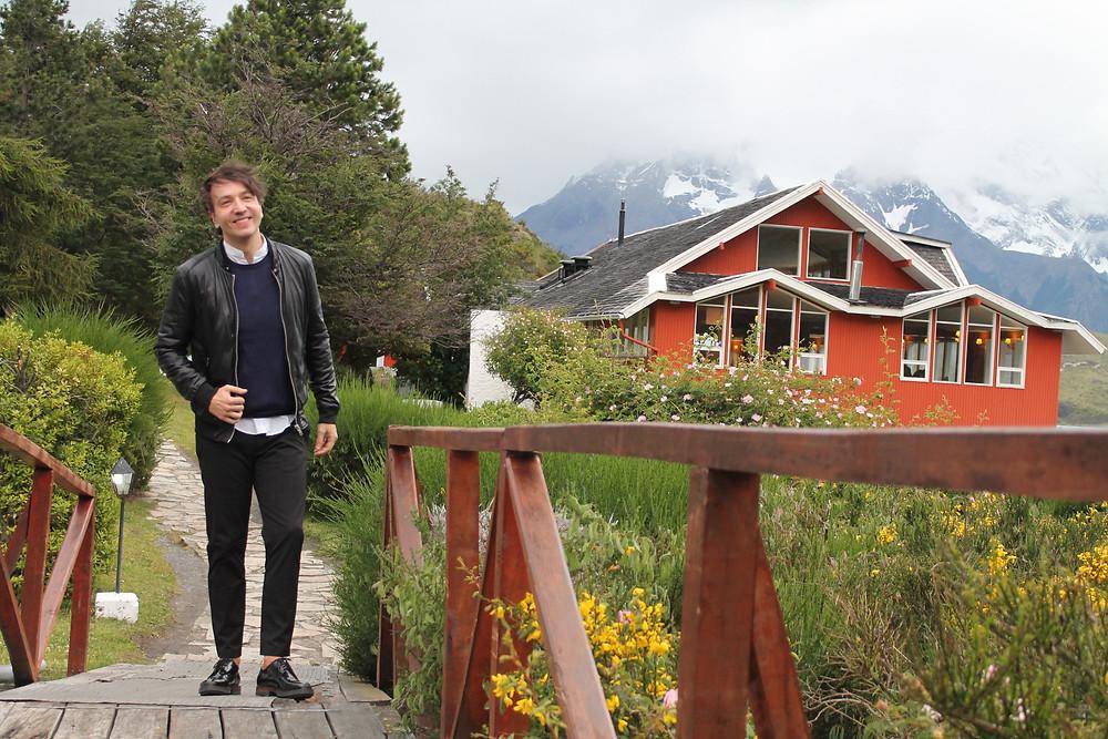 Miguel Biedma en las Torres del Paine