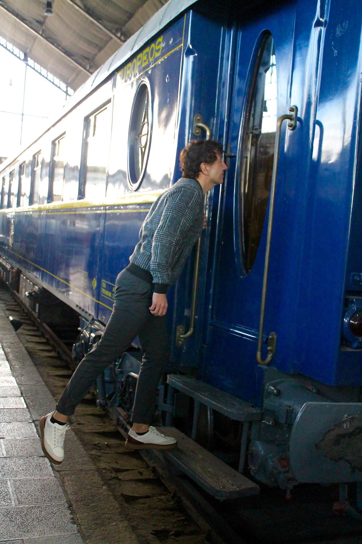 The Trendy Man en el Museo del Ferrocarril
