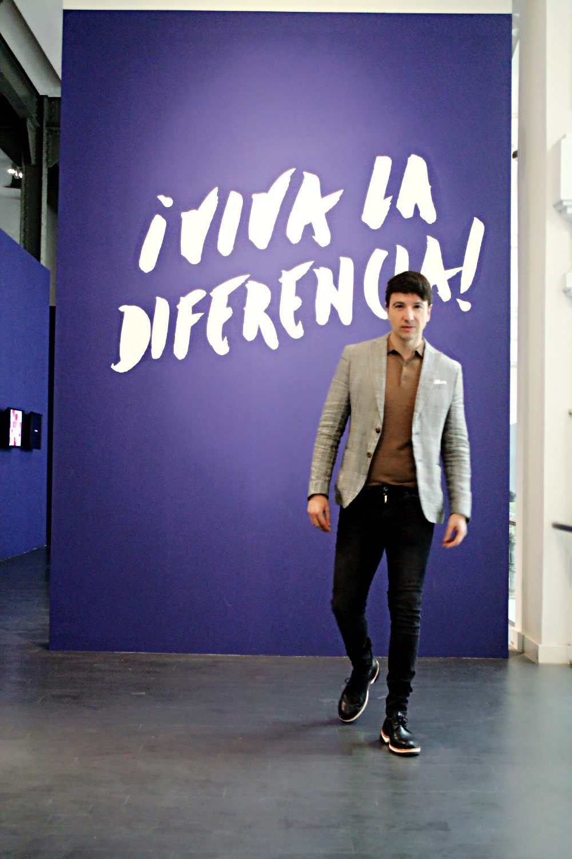 The Trendy Man en la exposición Viva la Diferencia en Madrid