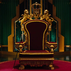 Oz The Great and Powerful Throne