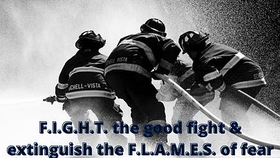 F.I.G.H.T. the good fight & fan the F.L.
