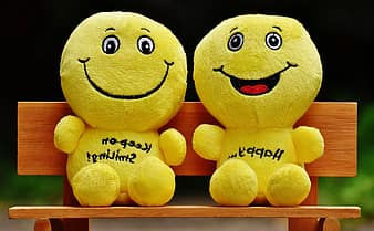 smilies-bank-sit-rest-friends-together-h