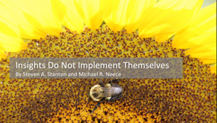 Insights Do Not Implement Themselves