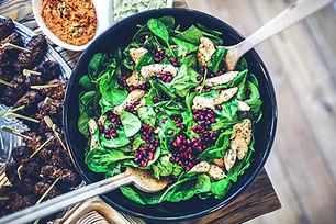 Spring Salad with Pasta & Lemon Dressing