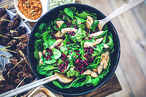 Nutritious pomegranate Salad as Rosie the London Nutritionist recommends
