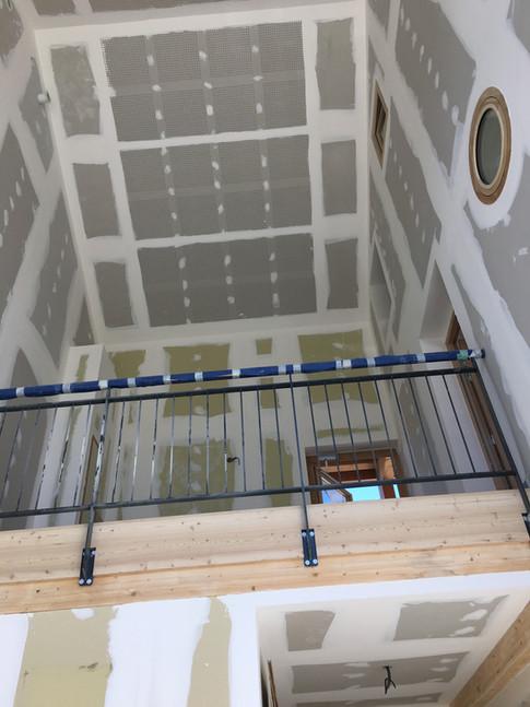 Faux plafond et doublage jointés