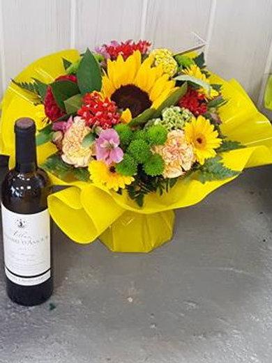 Coffret bouquet et vin