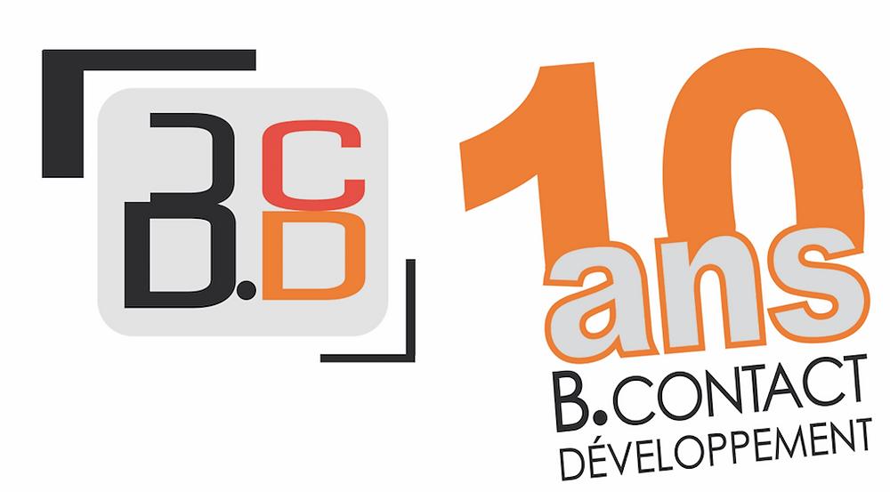 Logo B contact 10 ans