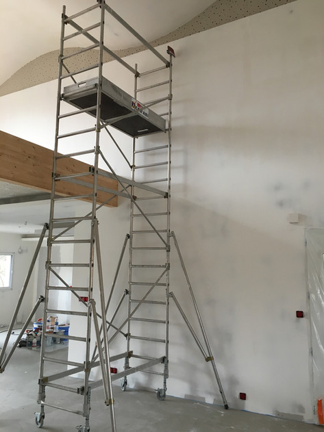 Doublage, faux plafond et finitions