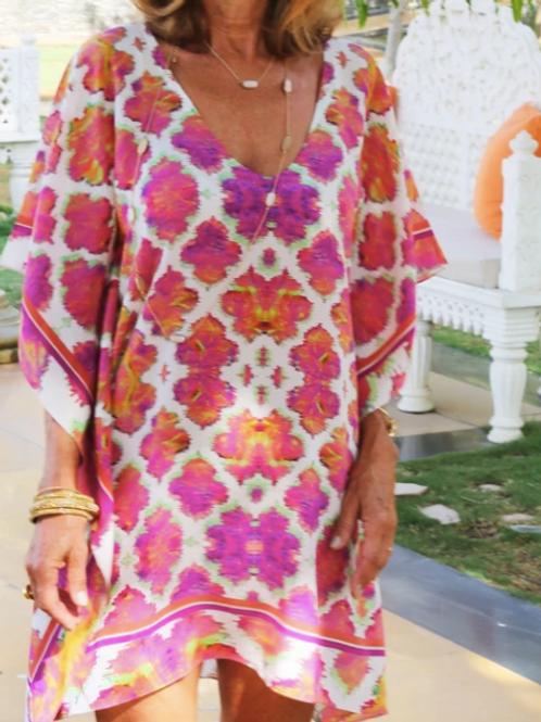 Classic Silk Kaftan