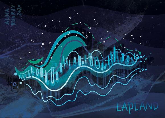 Auroras. Revontulet. Lapland