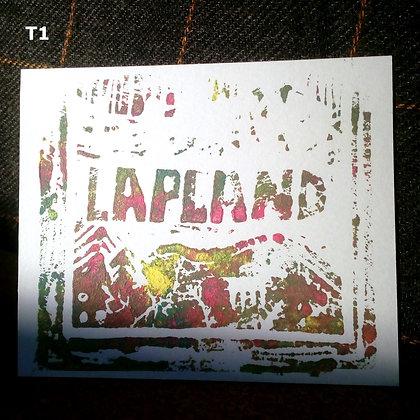 Lapland linocut TEST-PRINT
