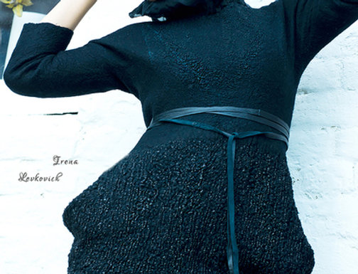 """Dress Pattern """"Black Attraction"""" with Instructions"""