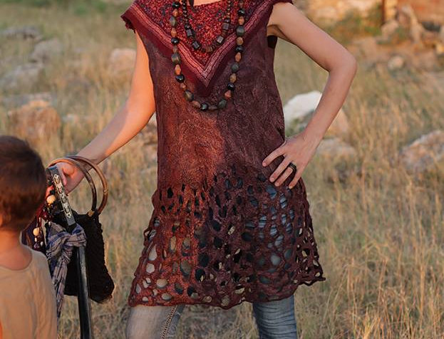 "Size XS-S. Will Send You. ""Gypsy Soul"" Tunic Dress"