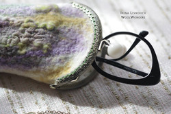 "HANDMADE EYE CASE '""Lavender Fields"""