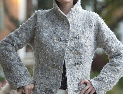 """Pattern for seemless felted Coat """"Autumn Mist"""""""