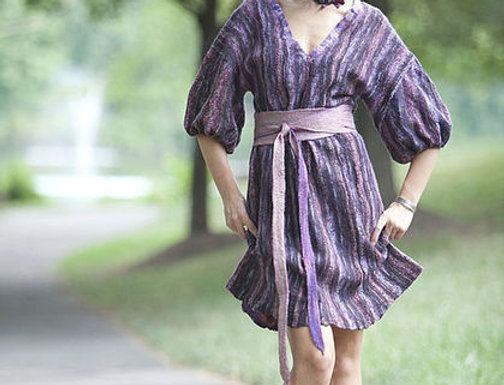 "Size XS-S. Will Send You ""Violet"" Dress"