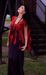 Flames dress