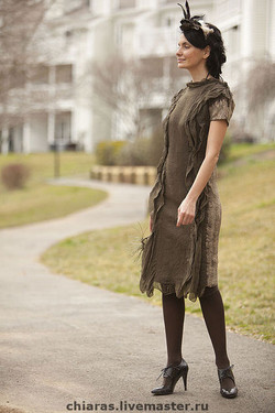 Taupe Dress 4