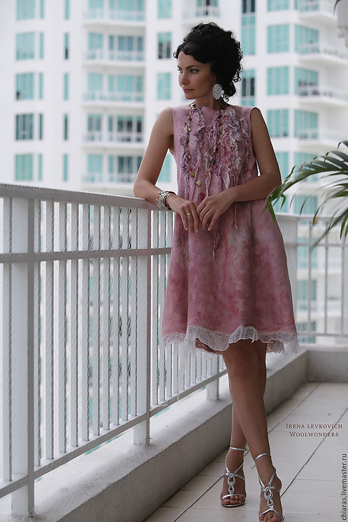 "Size S-M. Will Send You ""Roses Petals 2"" Dress"