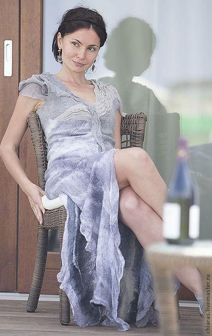 Long Grey Dress 2