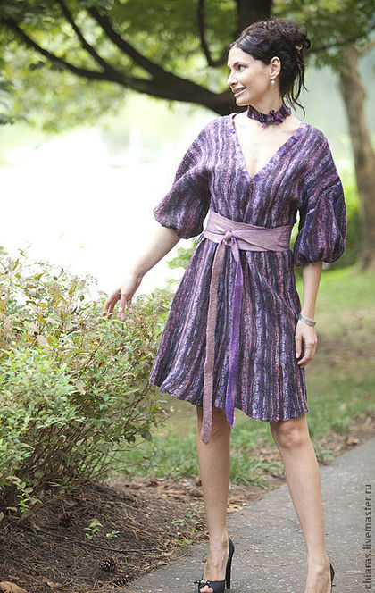 Violet Dress 2