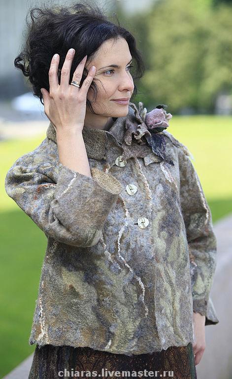 stone flower jacket
