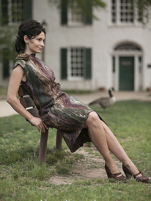 """Dress Pattern """"Goose Hunting"""" with Inst."""
