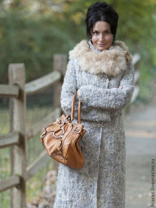 """Size M-L. """"Autumn Mist"""" Coat"""