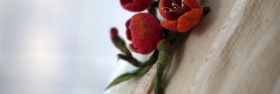 Cherry Blossom Brooch kit