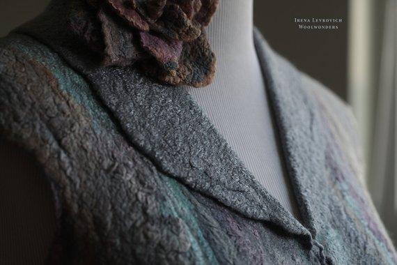 Blue Stone Vest