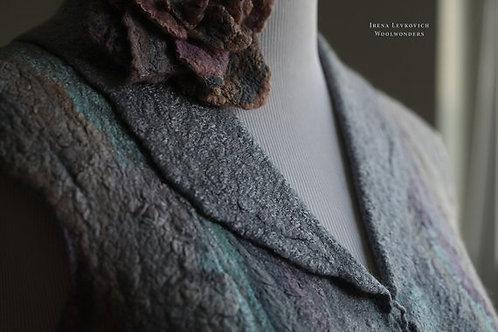Size XS-S Blue Stone Vest