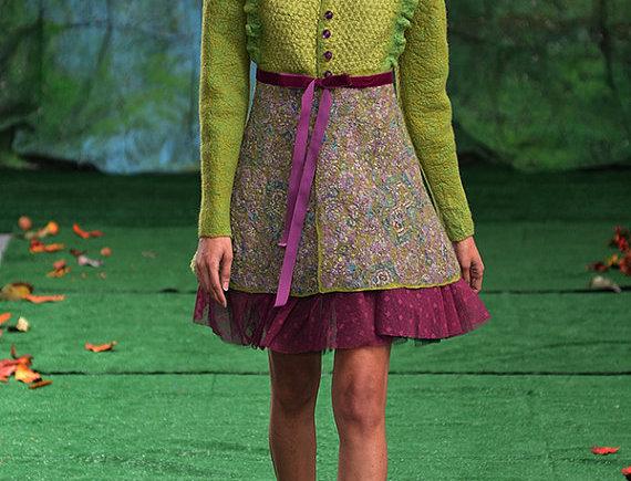 """Size M-L """"Lime"""" DC Fashion Week Jacket"""