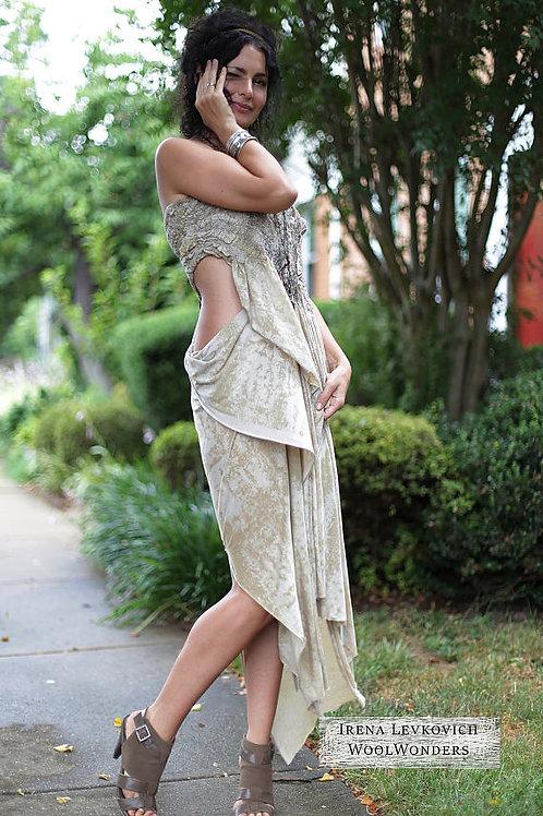 "Size L-XL. ""For Goddess"" Dress"