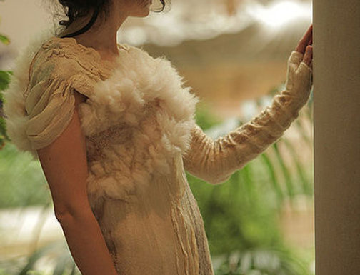 """Dress Pattern """"Edelvaice"""" with instructions"""