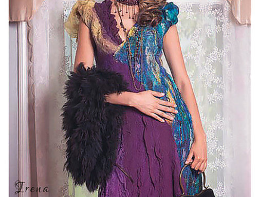 """Dress Pattern """"Bird of Paradise"""" with Instructions"""