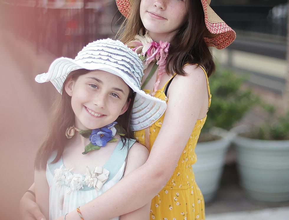 """30 June Summer Camp """"Pink Flowers Bouquet"""" On line class Webinar"""