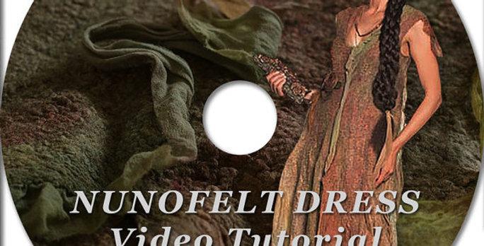 """(ENG) VIDEO """"How to make nunofelt DRESS"""""""