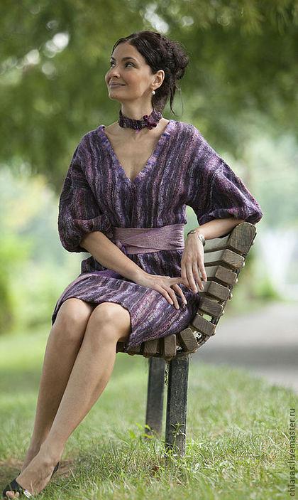 Violet Dress 4