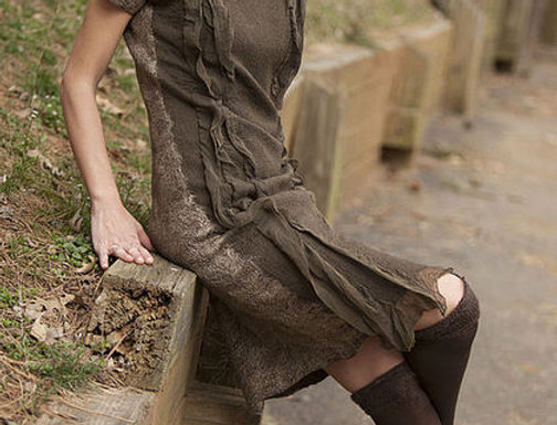 "Size XS-S. ""Taupe"" Dress"