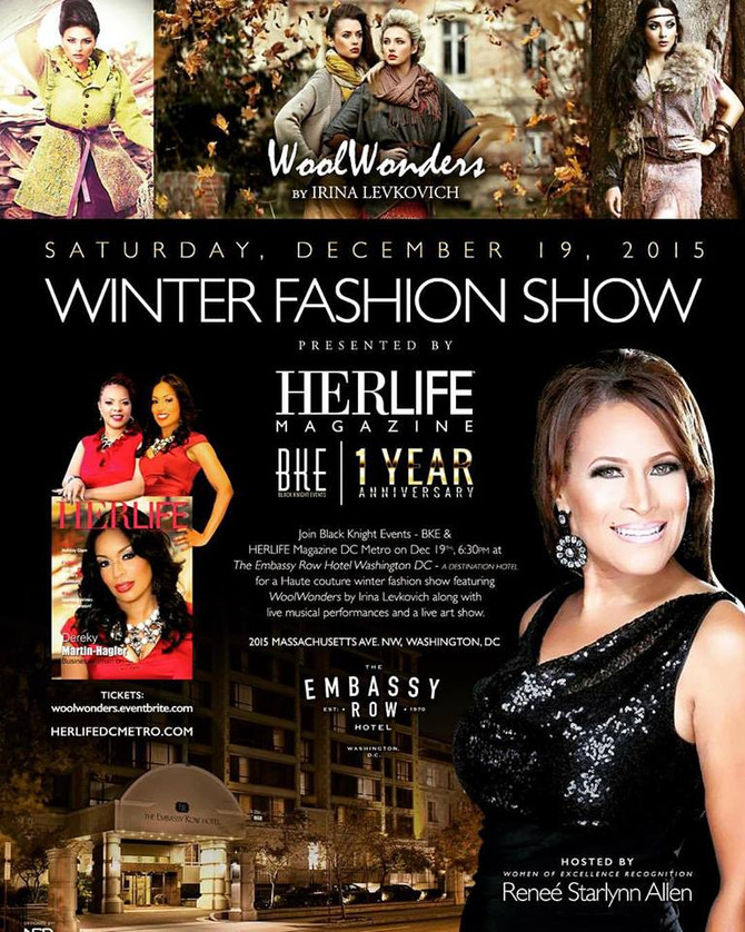 Woolwonders Winter Fashion Show BKE  Saturday, December 19, 2015 from 6:30 PM to 11:59 PM (EST) -The