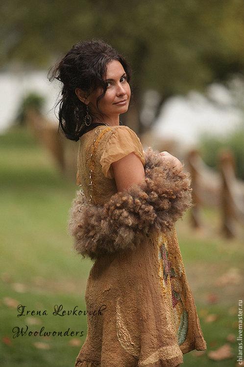 "Size L-XL. Will Send You ""Scythian Gold"" Dress"