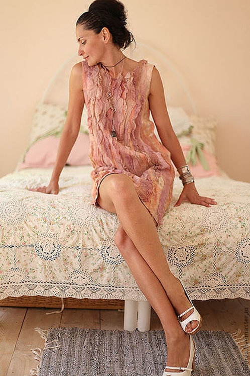 """Dress Pattern 'Rose Petals"""" with Instructions"""