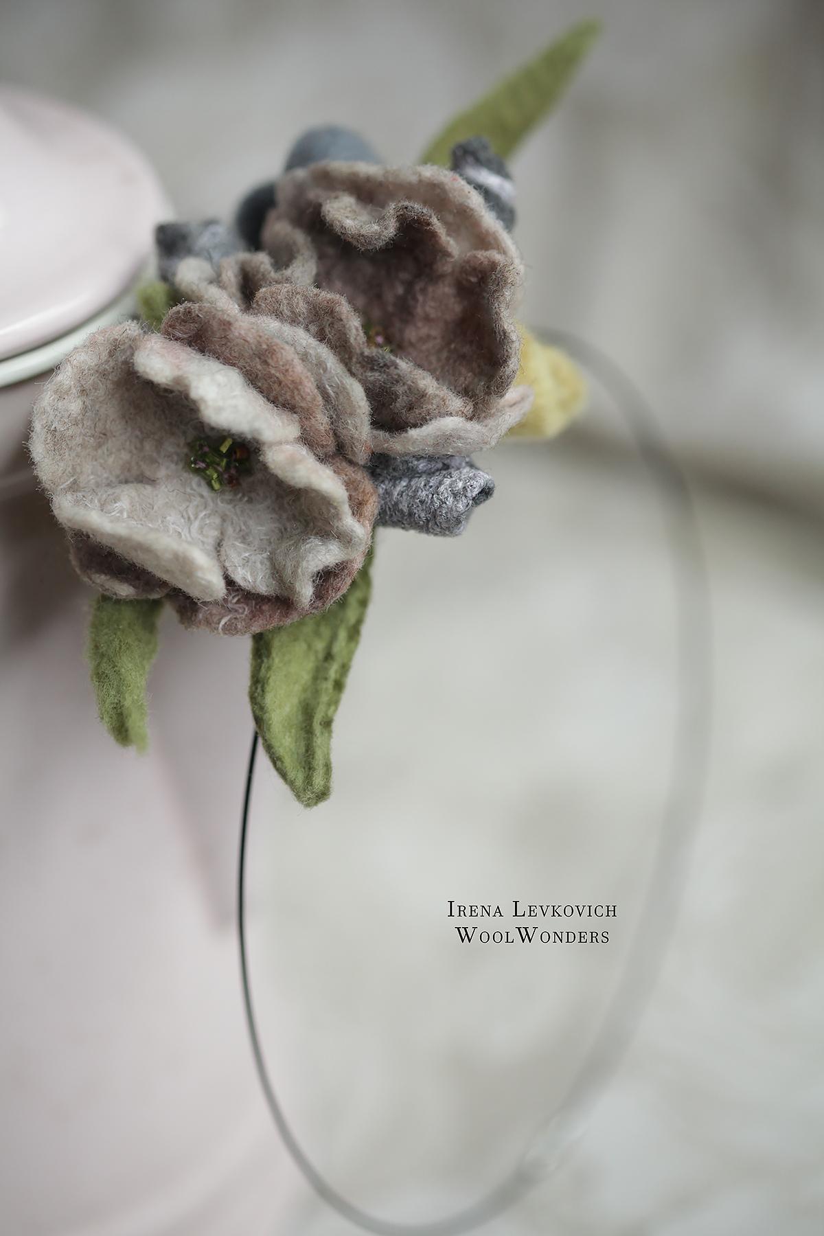 NECKLACE _Le petit bouquet pour elle_