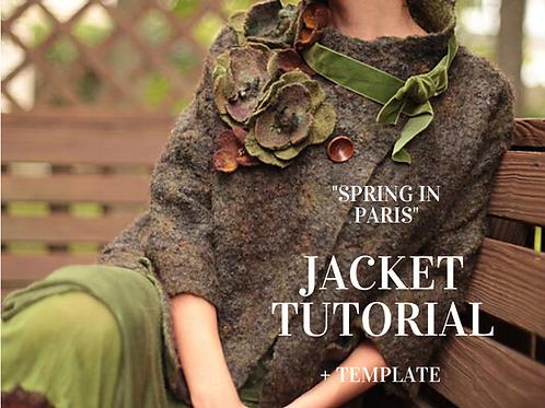 Video Tutorial: Spring in Paris Jacket in Green+Template