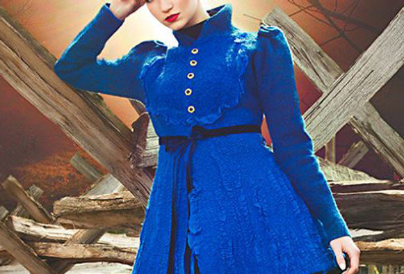 "Pattern for Jacket ""Royal Blue"" with instructions"