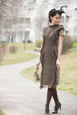 Taupe Dress 5
